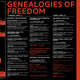 """""""Genealogies of Freedom"""" Conference 