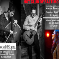 Hot Club of Baltimore with guest vocalist Alexis Tantau