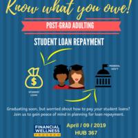 Financial Aid 104: Post-Grad Adulting Workshop