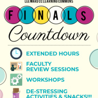 Finals Countdown: April 22 - May 10