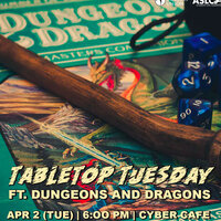 Tabletop Tuesday ft. Dungeons and Dragons