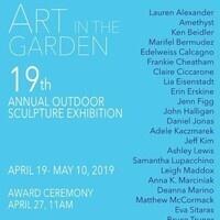 Art in the Garden: 19th Annual Outdoor Sculpture Exhibition