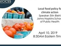 Local food policy for climate action