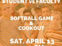 MBA Student Association - Student vs Faculty Softball Game