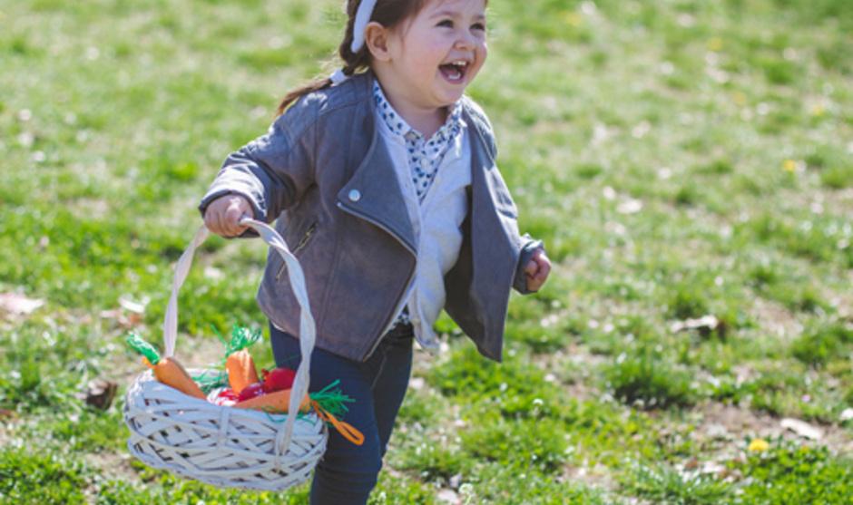 8000 Easter Egg Hunt at Sherman Field