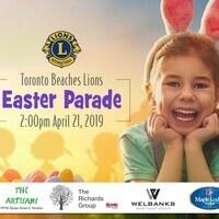 Toronto Beaches Lions Easter Parade