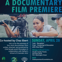2019 DePaul/CHA Doc Film Premiere with Co-host Chaz Ebert