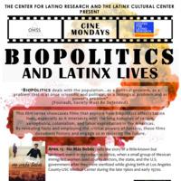 BIOPOLITICS AND LATINX LIVES | NO MÁS BEBÉS