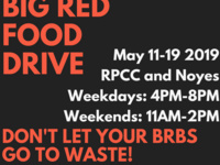 Big Red Food Drive 2019