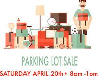 Parking Lot Flea Market Sale