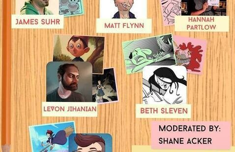 SFTV Animation Club Presents: Artists in Visual Story Discussion Panel