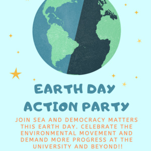 Earth Day Action Party