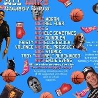 All Mike Comedy/Music Fundraiser for Teacher's Supply Swap!