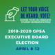 2019-2020 GPSA Executive Board Elections