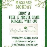 April Massage Monday