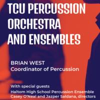 Ensemble Concert Series: TCU Percussion Orchestra and Ensembles Concert