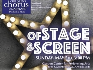 Of Stage and Screen Spring Concert