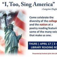 """I, Too, Sing America"" ~Langston Hughes"