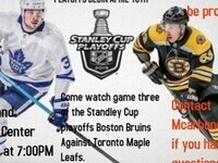 Boston Bruins against Toronto Maple Leafs game three of the playoffs