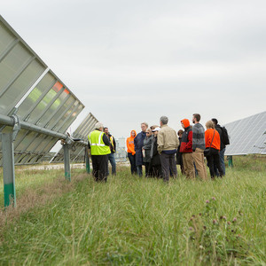 Tour of Bowling Green Solar Field