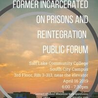 Formerly Incarcerated Views on Prisons and Reintegration