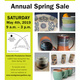 Montgomery Potters 2019 Annual Spring Sale