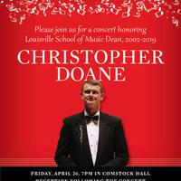 Celebration Concert: Chris Doane