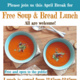 Free Soup & Bread Lunch