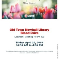 Old Town Newhall Library Blood Drive
