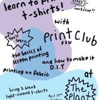T-Shirt Printing Workshop