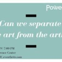 Shared Spaces: Can We Separate The Art From The Artist?
