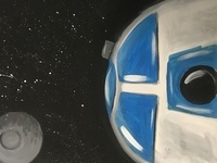 I love Star Wars Paint Party