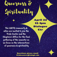 Queerness & Spirituality | Pride Center