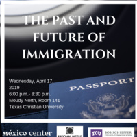 The Past and Future of Immigration