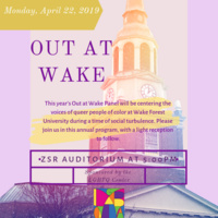 Out at Wake: Centering Queer People of Color at WFU