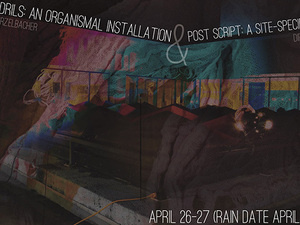 Poster for Symbiotic Tendrils: An Organismal Installation & Post Script: A Site-Specific Performance