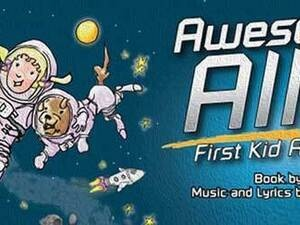 Awesome Allie: First Kid Astronaut - Live Onstage In The Dome Theater