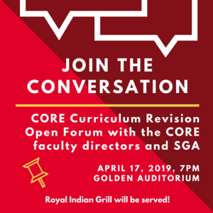 CORE Revision Open Forum