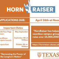 HornRaiser- Crowdfunding at UT Austin- Information Session