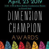 2019 THRIVE Dimension Champion Awards