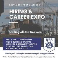 Baltimore Port Alliance Hiring & Career Expo