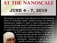 June 2019: CNF TCN Short Course