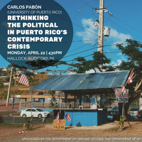 Rethinking the Political in Puerto Rico's Contemporary Crisis
