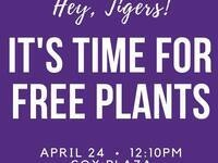 Clemson CPI Plant Drop (Free Plants)