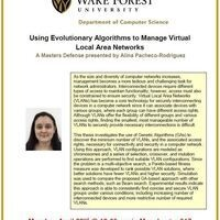 Using Evolutionary Algorithms to Manage Virtual Local Area Networks