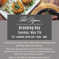 Phil Stefanie Signature Restaurants Branding Day