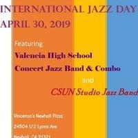 Valencia Vikings & CSUN Jazz Bands perform on International Jazz Day