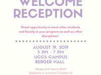 Graduate School Fall Welcome Reception