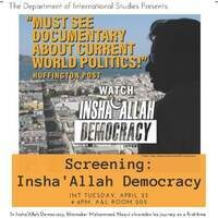 Insha'Allah Democracy Screening and Discussion