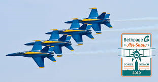 Bethpage Air Show at Jones Beach State Park